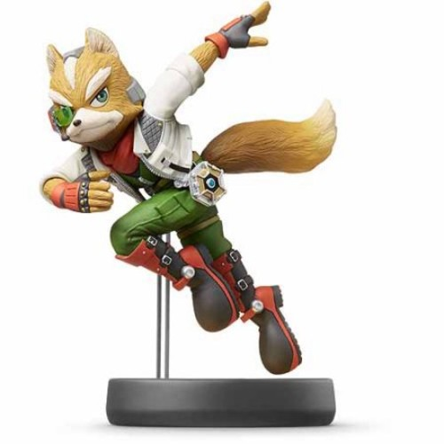 Fox Super Smash Bros Series Amiibo (Nintendo Wii U or 3DS)