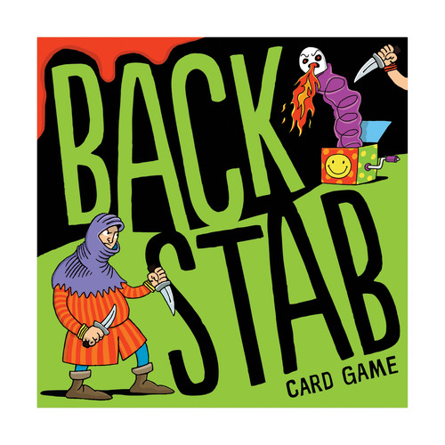 US Games Systems Backstab Card Game