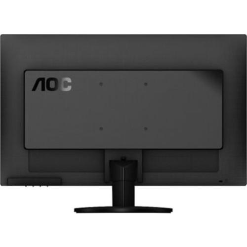 AOC e2470swd 24-Inch Class LED Monitor, 1920x1080, 250cd/m2, 5ms, 20M:1 DCR, VGA/DVI, Wall Mountable