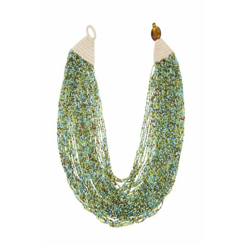 Blue/Green Cleopatra Necklace