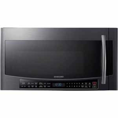 Samsung 1.7 cu. ft. Over The Range Convection Microwave - Black Stainless Steel