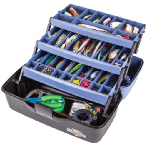 Flambeau 3-Tray Tackle Box with Zerust