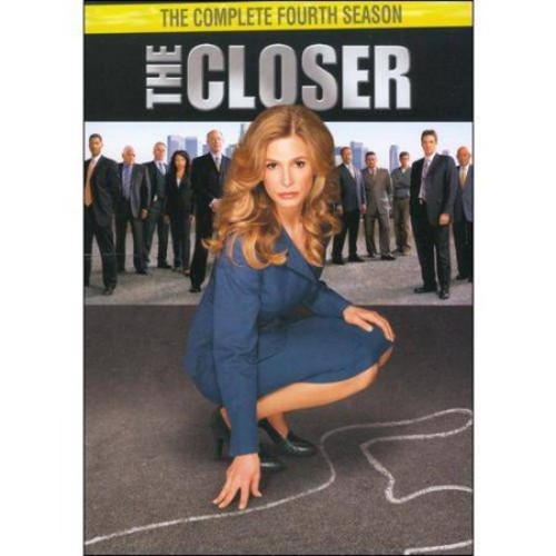 The Closer: The Complete Fourth Season [4 Discs] [DVD]