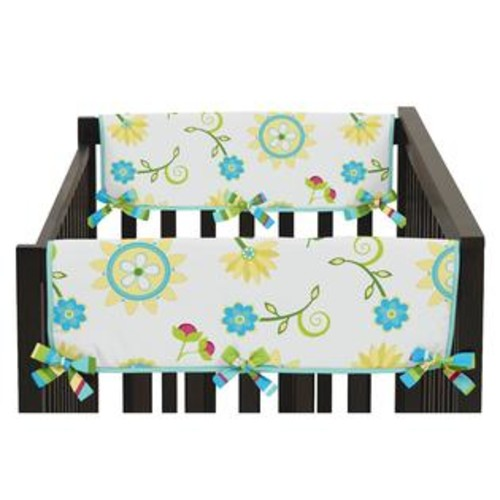 Sweet Jojo Designs Side Crib Rail Guard Covers for the Layla Collection by