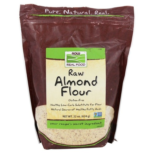 NOW Foods - Now Real Food Raw Almond Flour Gluten-Free - 22 oz.