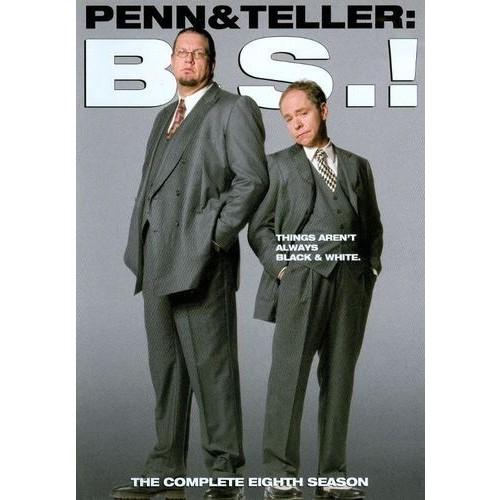 Penn & Teller B.S.! - The Complete Eighth Season [2 Discs] [DVD]