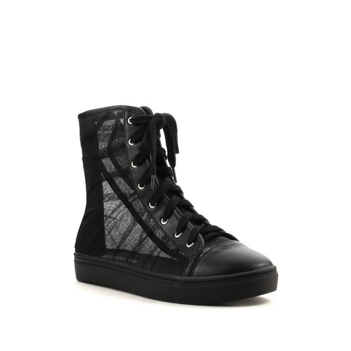 Dolly Mesh High Top Sneaker