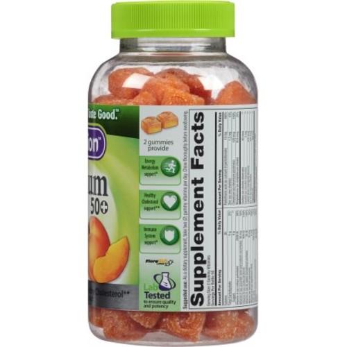Vitafusion Platinum 50+ Gummy Multivitamins, 100 Count
