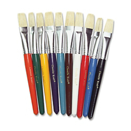 Chenille Kraft Assorted Paintbrushes, 5/8