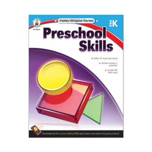Carson-Dellosa Workbook Preschool Skills Preschool