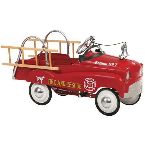 InStep Fire Truck Pedal Car [Red]