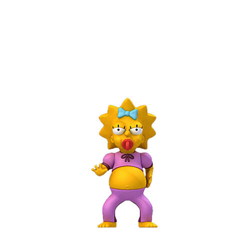 Simpsons 25th Anniversary - 5 inch Figure - Series 2 Maggie Pink Jumpsuit