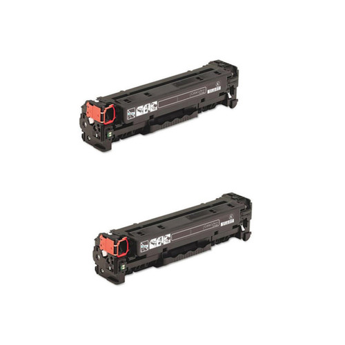 Canon 118 (2662B001AA) Black Compatible Quality Toner Cartridge MF8350Cdn (Pack of 2)