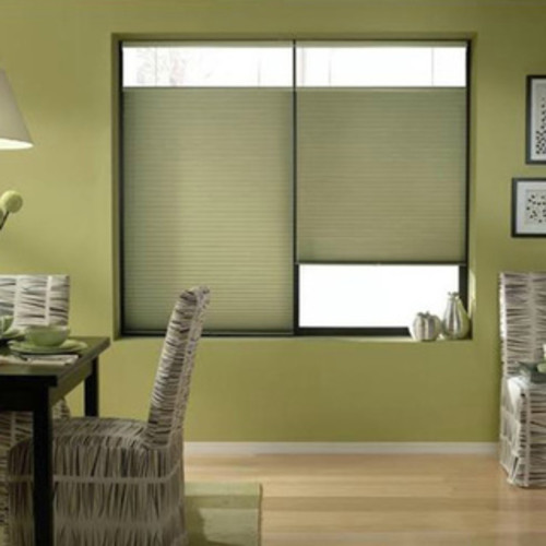 First Rate Blinds Bay Leaf 22 to 22.5-inch Wide Cordless Top Down Bottom Up Cellular Shades
