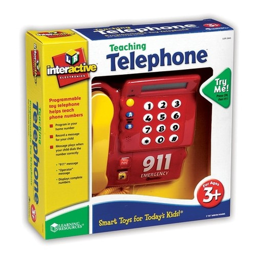 Learning Resources Play Sets Teaching Telephone Gr Pk+