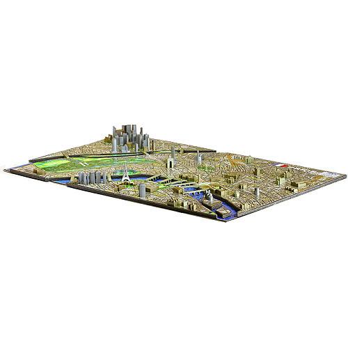 4D Cityscape Paris Time Puzzle