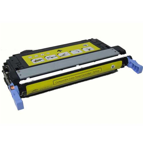 HP CB402A (642A) Yellow Compatible Laser Toner Cartridge