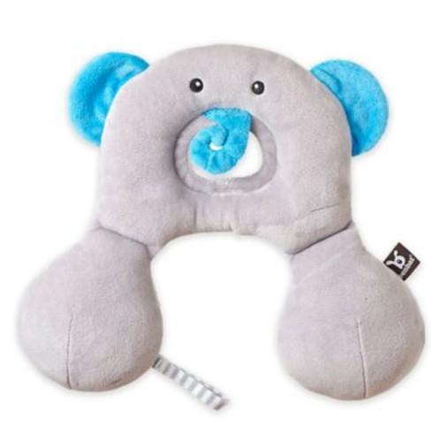 BenBat Travel Friends Elephant Infant Head/ Neck Support Pillow in Grey