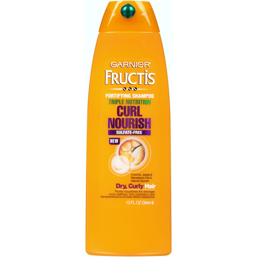 Garnier Fructis Triple Nutrition Curl Nourish Shampoo 13 fl. oz. Bottle