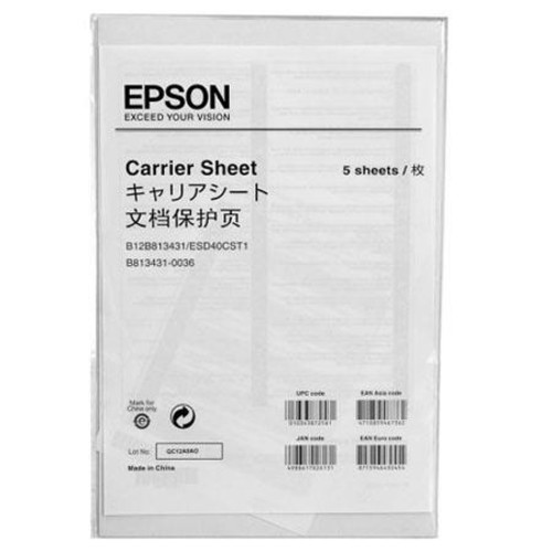 Epson B12B813431 Gt S50/80 Carrier Sheet for the FastFoto Photo and Document Scanner