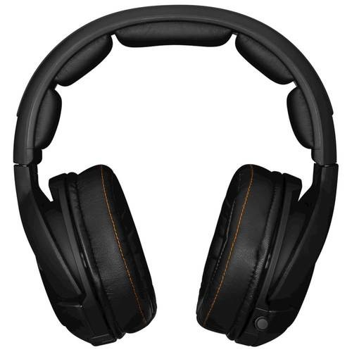 SteelSeries - Siberia Wireless Dolby 7.1 Virtual Surround Sound Gaming Headset for Mac, Windows, PlayStation 3/4 and Xbox 360 - Black