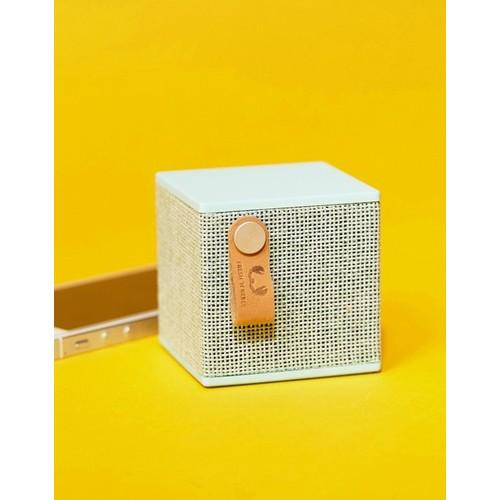 Fresh N Rebel Rockbox Cube Mint Fabric Edition Wireless Speaker