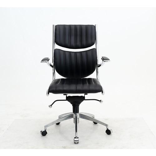 Manhattan Comfort Ergonomic High Back Verdi Black Office Chair