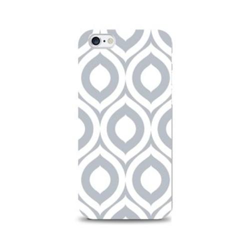 OTM Prints White Phone Case, Elm Grey - iPhone 6/6S Plus