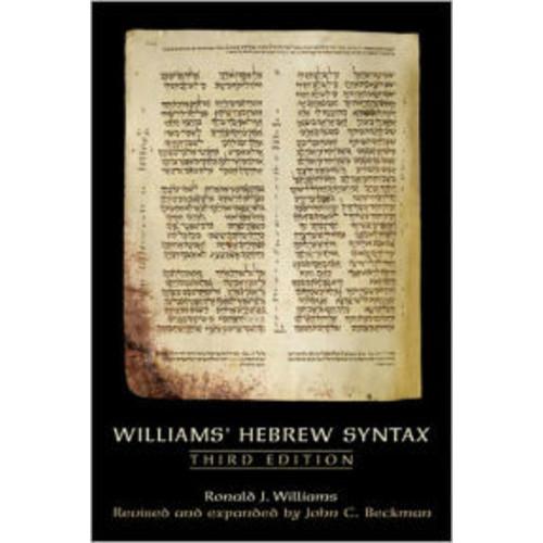 Williams' Hebrew Syntax / Edition 1