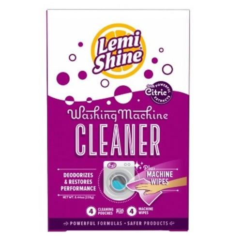 Lemi Shine Washing Machine Cleaner, Includes Wipes, 8.44 oz