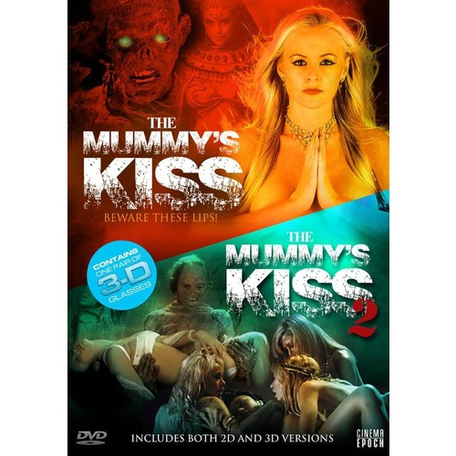 The Mummy's Kiss/The Mummy's Kiss 2 [3D] [With 3D Glasses] [DVD]