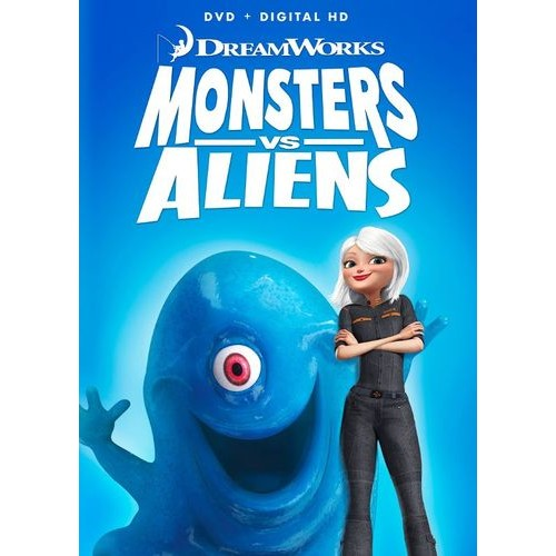Monsters vs. Aliens [DVD] [2009]