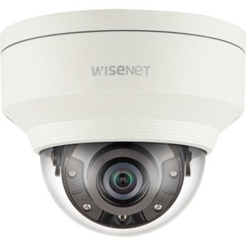 WiseNet X Series 5MP Vandal-Resistant Outdoor Network Dome Camera with Night Vision (7mm Lens)