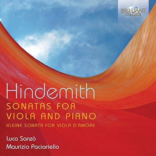 Luca Sonzo - Hindemith: Sonatas for Viola and Piano