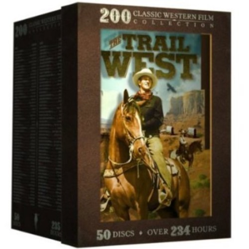 The Trail West: 200 Classic Western Film Collection