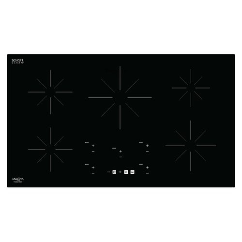 Ancona Chef 36'' Induction Cooktop with 5 Burners