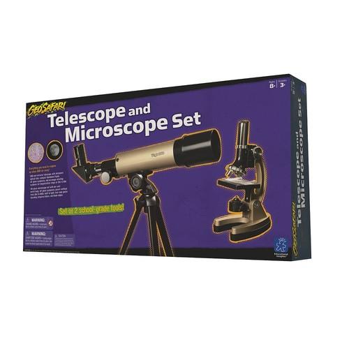 Educational Insights GeoSafari Telescope & Microscope Set
