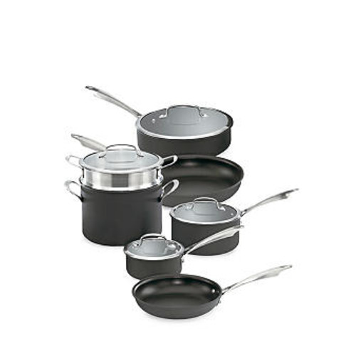 Cuisinart Nonstick Dishwasher Safe 11-Piece Cookware Set