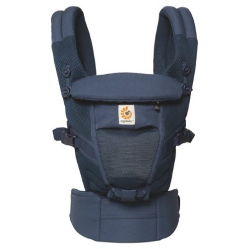 Ergobaby Adapt Ergonomic Multi-Position Cool Air Mesh Baby Carrier - Deep Blue