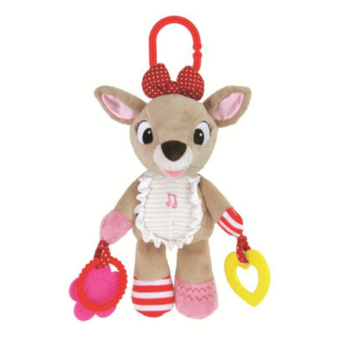 Disney's Clarice the Reindeer Activity Plush Toy by Kids Preferred - Baby Girl