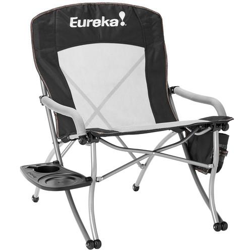 Eureka Curvy Chair w\/ Side Table Camp Chair