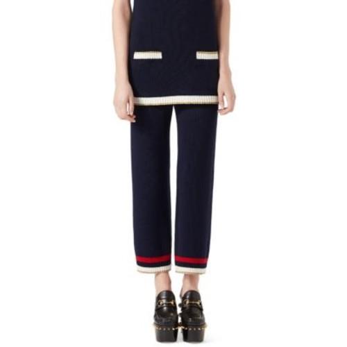GUCCI Knit Striped Pants