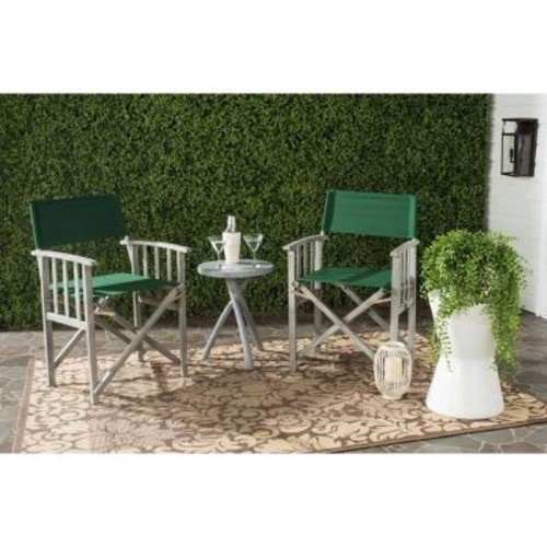 Safavieh Laguna Green Folding Director's Chair (Set of 2)