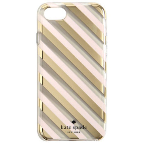 Kate Spade New York iPhone 7 Case, Diagonal Stripes