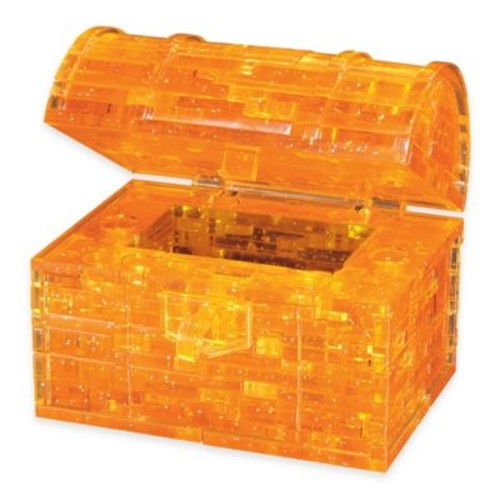 Treasure Chest 52-Piece Original 3D Crystal Puzzle