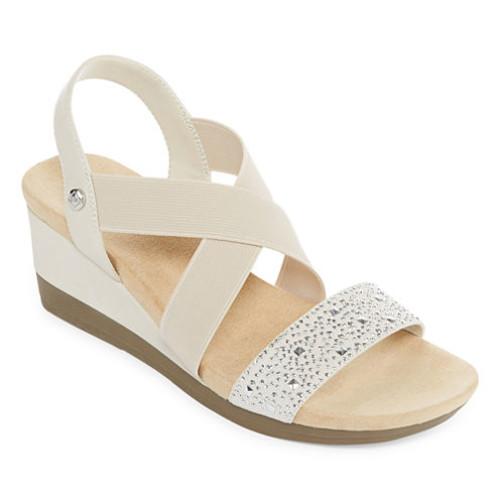 St Johns Bay Warner Womens Wedge Sandals JCPenney [medium]