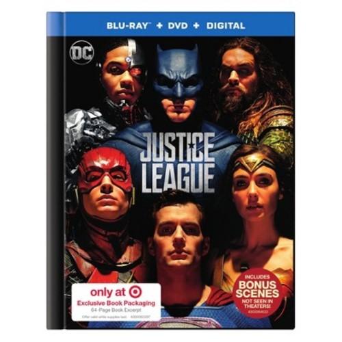 Justice League Target Exclusive (Blu-Ray + DVD + Digital)