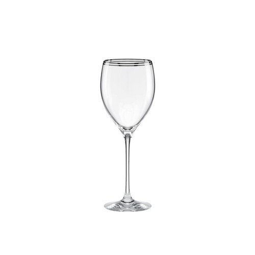 kate spade new york Library Lane Platinum 10 oz. Wine Glass