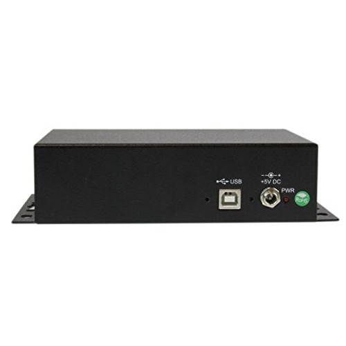 StarTech AC ICUSB2328I 8Port USB to DB9 RS232 Serial Adapter Hub Wallmountable