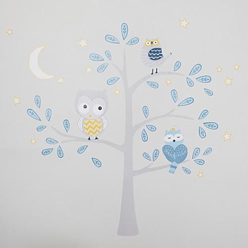 Lambs & Ivy Night Owl Jumbo Wall Decals